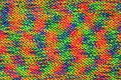 Rainbow Knited Texture