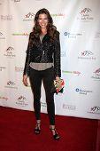 LOS ANGELES - 9 de JAN: Adrienne Janic na festa