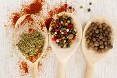 Spices selection