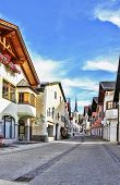 Street In Garmisch-partenkirchen, Germany