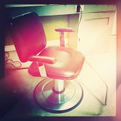 Barber Chair with instagram effect