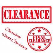 Final Clarance Stamp