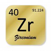 Zirconium element