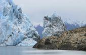 Perito Moreno Glacier In Patagonia. Argentina. South America
