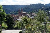 Church in the Murg Valley in the Black Forest