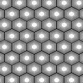 Polygon Seamless Pattern Background