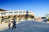 Tokyo,japan - November 20 : People Visit Yoyogi National Gymnasium