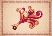 Vector illustration of Traditional Ramadan Cannon. Elements are layered separately in vector file.