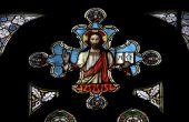 Jesus Christ befleckt Fenster