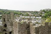 Laugharne town and castle