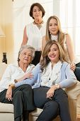 Family comes first: 4 generations