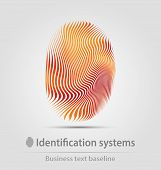 Identification Systems Business Icon