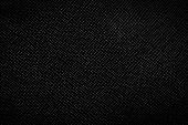 Genuine black leather background, pattern, texture. Bumpy, grained structure