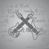 rock and roll guitars