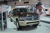 Ram 2500 Longhorn Mega Cab 2015 On Display