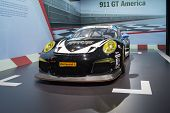 Porsche 911 Gt America On Display