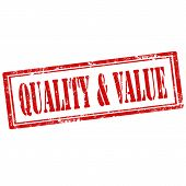 Quality & Value-stamp