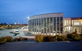 Berlin, Germany - November 11, 2014: Attendees Outside Messe Berlin Entrance South At Sap Teched 201