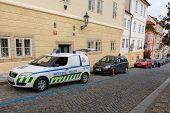 Prague. Traffic Police.