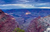 Fascinating Tremendous Grand Canyon Sight In The Very Early Morning