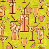 Cocktails Background