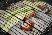 Chicken Fried On Coals