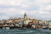 Istanbul, View From The Sea