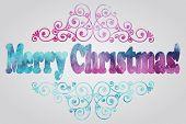 Merry Christmas Watercolor Greetings