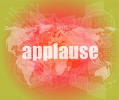 stock photo of applause  - business concept - JPG