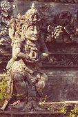 Stone statue on Bali,Indonesia