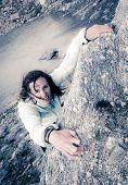 Female Climber.