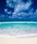 Word Relax on sand beach