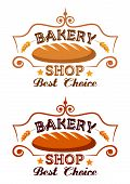 Bakery shop label