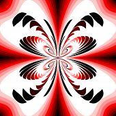 Design Colorful Decorative Twirl Background