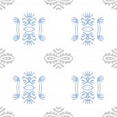 tribal ethnic pattern, vector background.