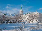 Winter Garden at the monastery