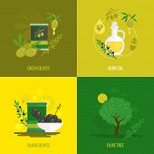 Olives mini poster set
