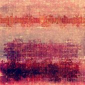 Old grunge template. With different color patterns: purple (violet); orange; red; brown; yellow