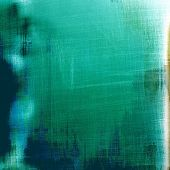 Old abstract texture with grunge stains. With different color patterns: green; gray; blue