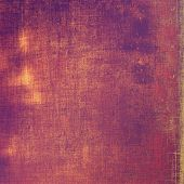 Designed grunge texture or background. With different color patterns: purple (violet); brown; yellow