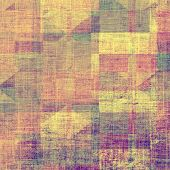 Old background with delicate abstract texture. With different color patterns: yellow; purple (violet); orange; brown; gray; blue