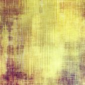 Beautiful vintage background. With different color patterns: yellow; purple (violet); brown; gray