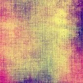 Grunge texture, distressed background. With different color patterns: green; purple (violet); red; yellow