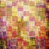 Art grunge vintage textured background. With different color patterns: yellow; purple (violet); orange; green; brown; red