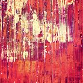Rough vintage texture. With different color patterns: purple (violet); orange; red; yellow