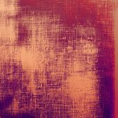 Old Texture. With different color patterns: purple (violet); orange; red; brown; yellow