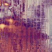 Grunge texture, may be used as background. With different color patterns: gray; purple (violet); orange; brown; yellow