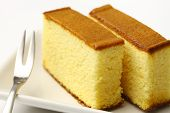 stock photo of sponge-cake  - Castella is a Japanese style sponge cake - JPG