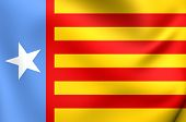 Flag of the Valencian Nationalism