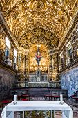 BAHIA, BRAZIL - CIRCA NOV 2014: Church of St. Francis of Assisi in Salvador, Bahia, Brazil.